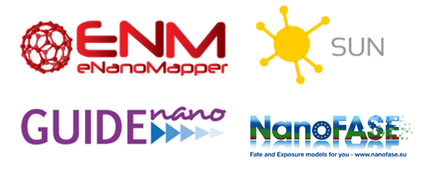 joint event is bringing together inputs and approaches from several EU NMP projects (e.g. eNanoMapper, NanoFASE, GUIDEnano, SUN)