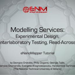 Modelling Services: Experimental Design, Interlaboratory Testing, Read-Across - Video Tutorial