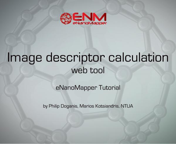 Image descriptor calculation web tool