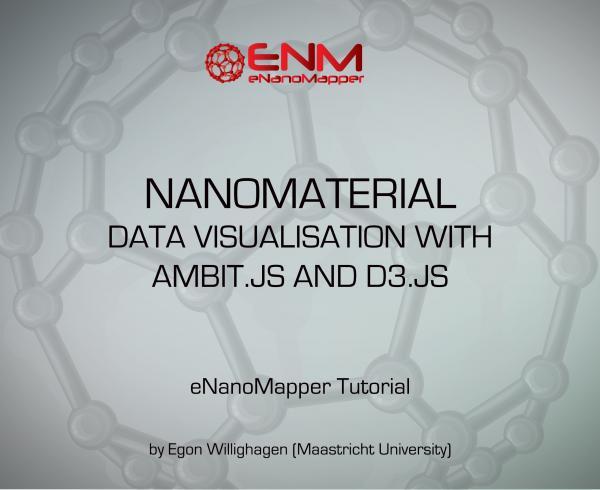 eNanoMapper Webinars: Nanomaterial data visualization