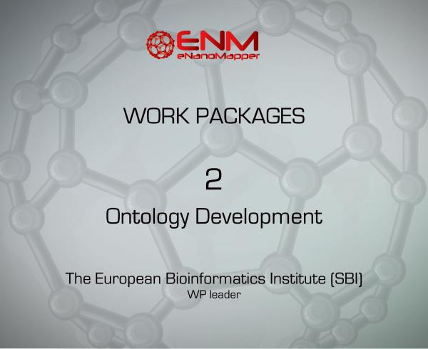 eNanoMapper Work Package 2 – Ontology Development