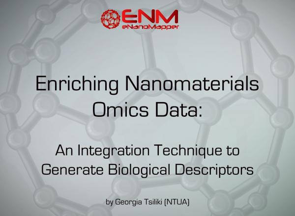 Enriching Nanomaterials Omics Data