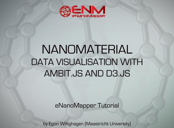 eNanoMapper Webinars: Nanomaterial data visualization